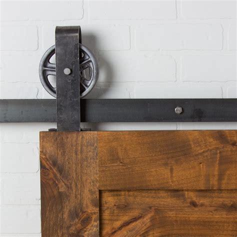 top mount barn door hardware barn door mount configure classic top mount sliding
