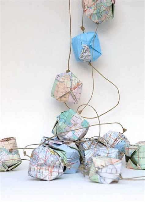 map crafts for 25 diy map crafts for gifts and home decor