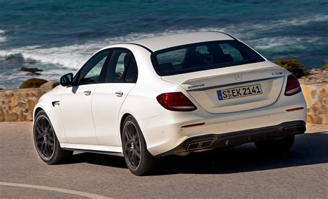 2018 E63s Amg by 2018 Mercedes Amg E63s Rear Left Side View Hd Car Wallpapers