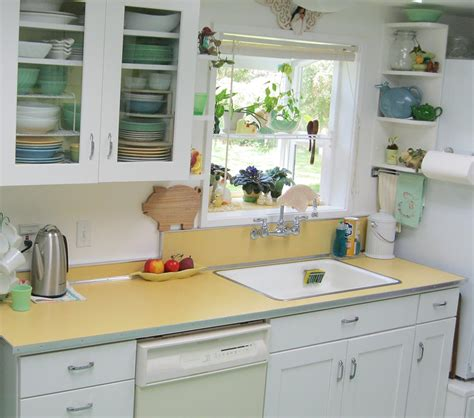 Manufactured Homes Interior Design maile remodels a dark 1970s kitchen into a sunny 1940s