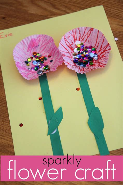 springtime crafts for toddler approved baggie painted flowers