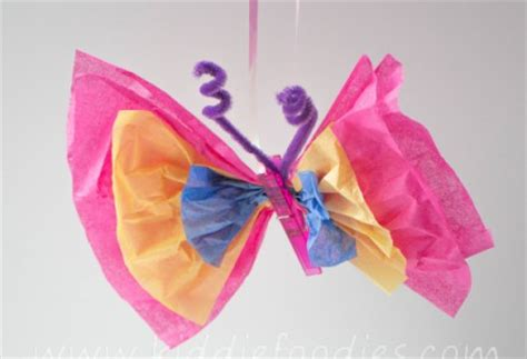 paper butterfly craft ideas craft