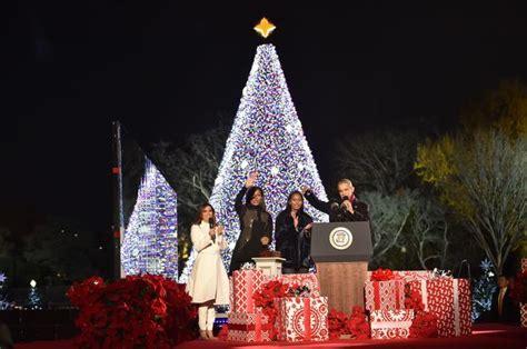 lighting the tree lighting the tree 2016 national tree lighting
