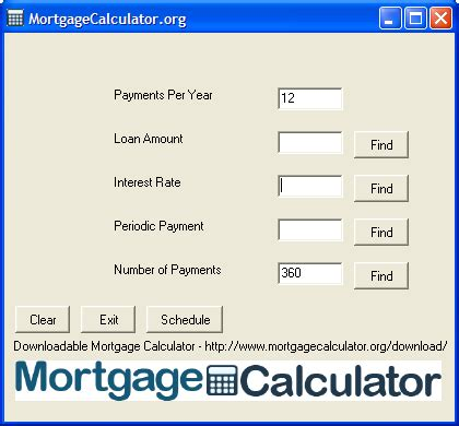 can you make a house payment with a credit card downloadable free mortgage calculator tool
