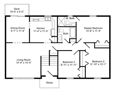 bi level floor plans bi level floor plans bi level home plan the norwood the