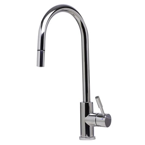 best brand of kitchen faucets bath4all alfi brand ab2028 pss solid polished stainless steel single pull kitchen faucet