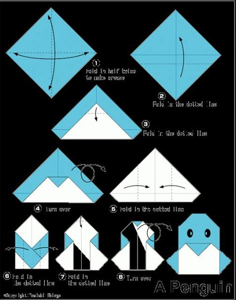 easy origami penguin 1000 ideas about origami on origami