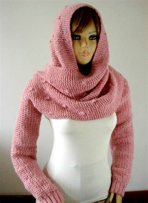 hooded shawl knitting pattern the world s catalog of ideas