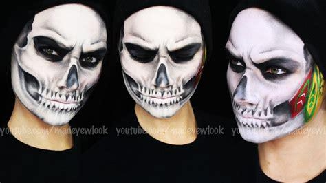 tutorial skull skull makeup tutorial you mugeek vidalondon