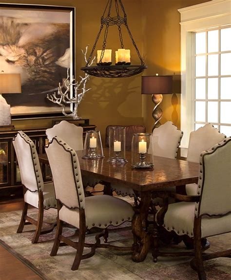 Tuscan Dining Room Tables tuscan furniture colorado style home furnishings