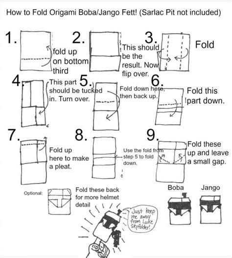 how to fold origami yoda origami bobajango instrux origami yoda