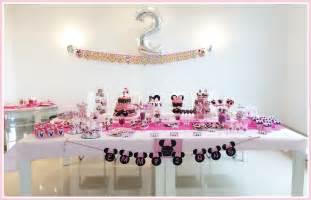 le bar kit anniversaire d 233 coration sweet table sweet table kit minnie soraya
