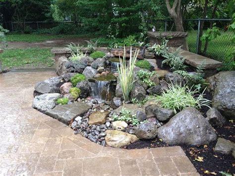 rock garden features 25 best ideas about patio on garden