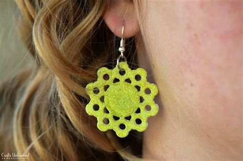 paper craft jewellery how to make diy earrings out of paper