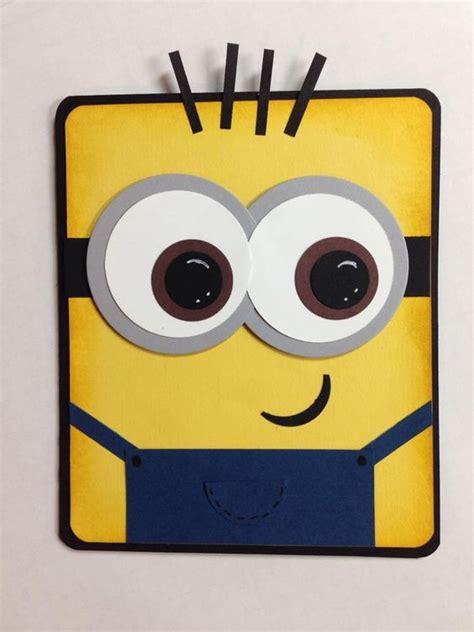 how to make a minion card 1000 ideas about minion card on minion