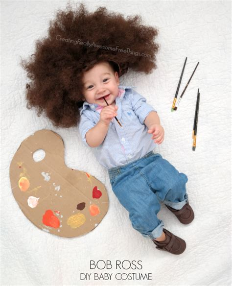 bob ross paintings costume diy bob ross costume c r a f t