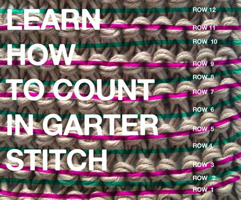 how to count knitting rows learn how to count rows in your knitting projects the