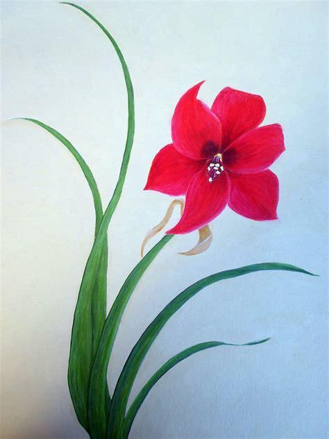 acrylic painting ideas flowers easy acrylic painting ideas flowers simple flower