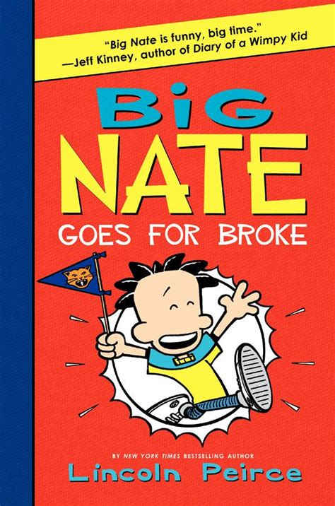 big nate book pictures junior library guild big nate goes for by lincoln