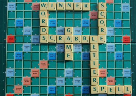 scrabble solver board scrabble board editorial stock photo image 39524193
