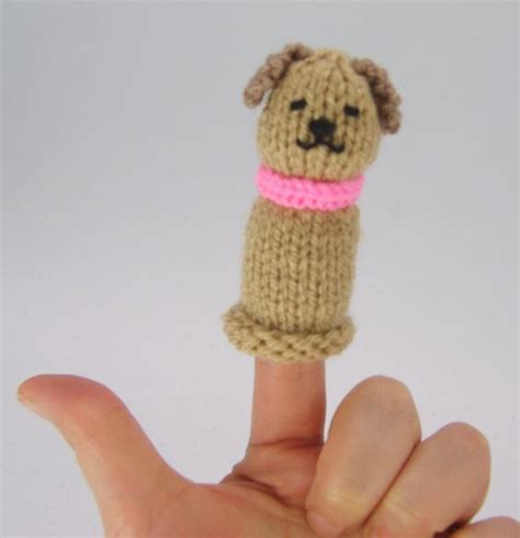 knitted puppets free patterns finger puppet free knitting pattern pinteres