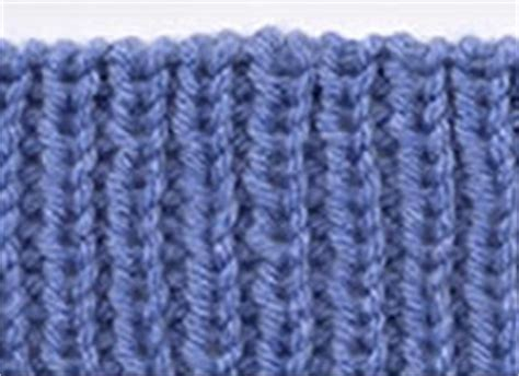 knit 1 purl 1 rib stitch how to bind knittinghelp