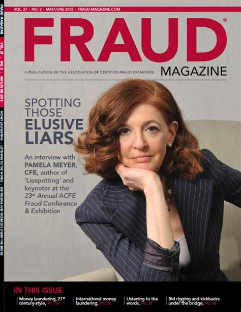 magazine archive fraud magazine current issue