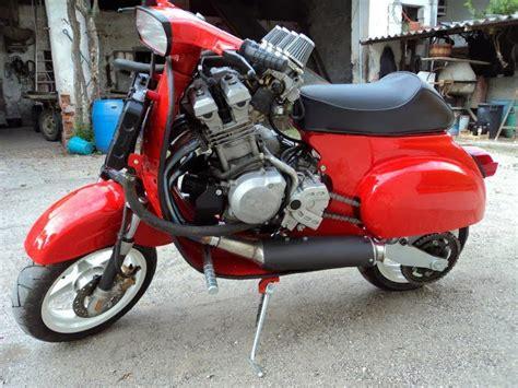 Modifikasi Vespa Model Harley by Koleksi Foto Modifikasi Vespa Klasik Paling Keren Terbaru