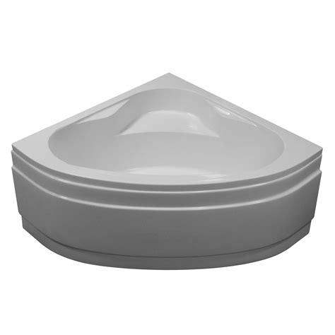 baignoire d angle access sensea acrylique 130x130 cm leroy merlin