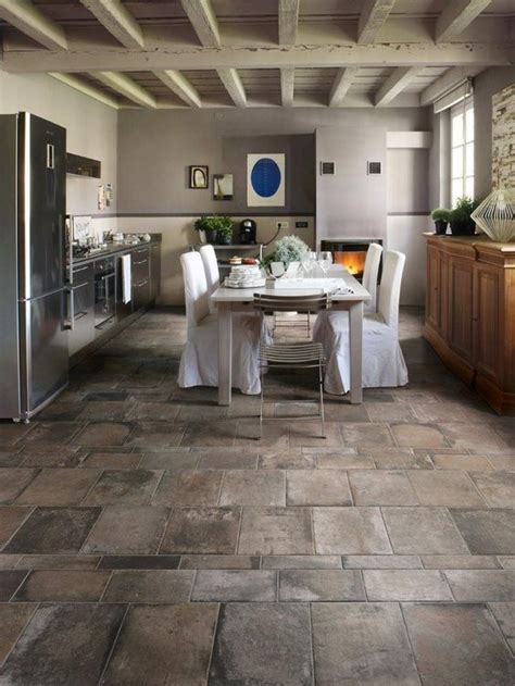 tiles for kitchen floor 25 flooring ideas with pros and cons digsdigs