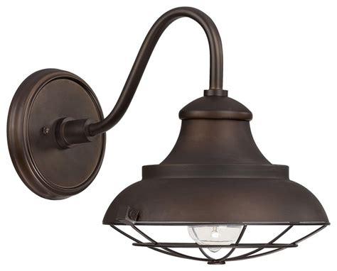 outdoor farmhouse lighting capital lighting 4561bb outdoor 1 light barn style outdoor