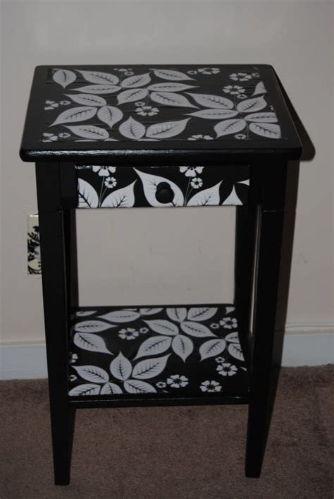 decoupage bedside table bedside table restyled with decoupage decoupage paint