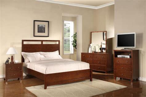simple bedroom design for vila in ansamblu