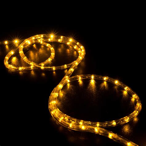 orange led rope lights 150 orange saffron yellow led rope light home outdoor