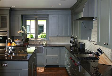 grey blue kitchen cabinets blue gray kitchen cabinets contemporary kitchen