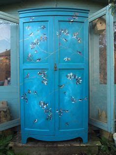 decoupage wardrobe 1000 images about wardrobes painted shabby chic