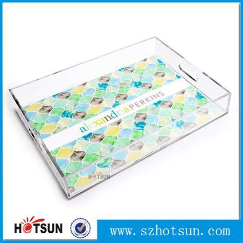 acrylic wholesale wholesale clear acrylic serving tray plexiglass decorative