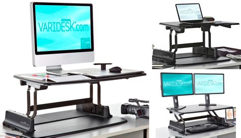 convert desk to stand up desk easily convert your conventional desk to a standing desk