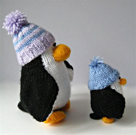 knitting pattern for penguin editor s choice bobble and penguins by amanda