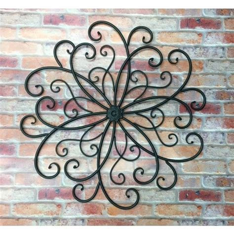 garden wall decor wrought iron best 25 outdoor metal wall ideas on patio