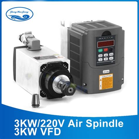 Motor Electric 3kw 220v by 3kw 220v Ac Motor Air Cooled Electric Spindle Er20 3000w
