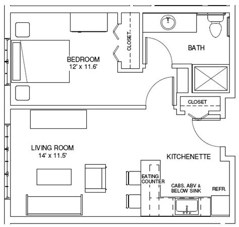 one bedroom house designs plans one bedroom floor plans 171 unique house plans