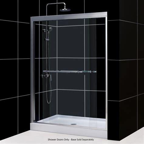 12 Sliding Glass Doors Dreamline Duet Dual Sliding Glass Shower Doors Shdr 12