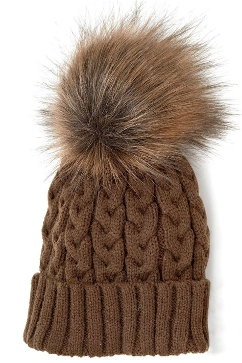 Locust Whimsy Knit Pom Pom Hat From New Jersey Shoptiques