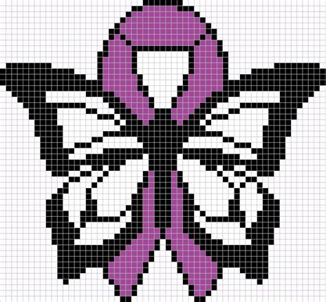 large perler perler fibromyalgia butterfly large by