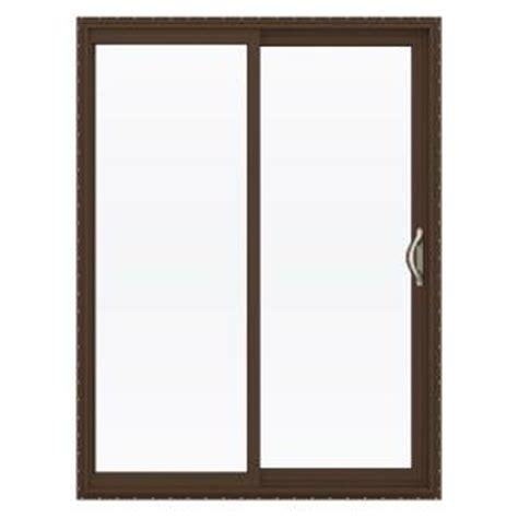 home depot sliding glass patio doors jeld wen 60 in x 80 in v 2500 series vinyl sliding low e