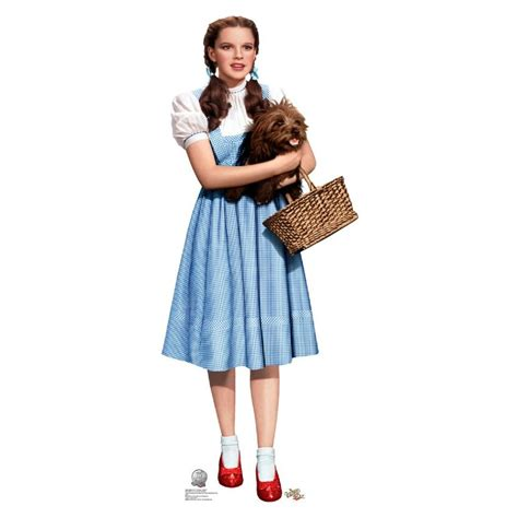 Wizard Of Oz Dorothy Holding Toto Standup