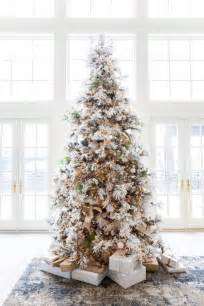 flocked white tree 25 unique flocked trees ideas on