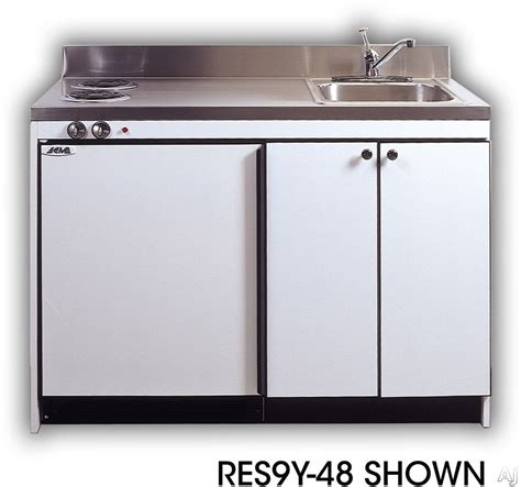 compact kitchen sinks acme efficiency kitchenettes res9y30 compact kitchen with