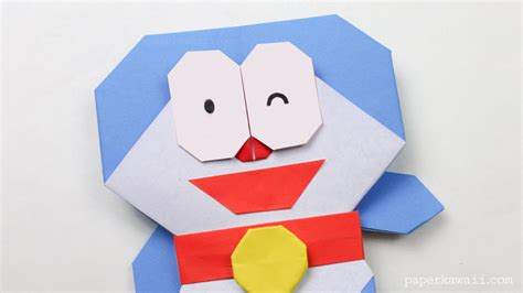what is origami paper made of origami doraemon tutorial paper kawaii